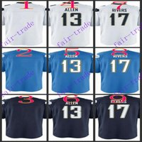 allen baseball - Youth NIK Game Football Stitched Chargers Blank Allen Rivers Light Blue White Dark Blue Jerseys Mix Order