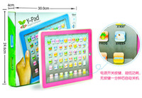 Wholesale Y pad Table English Computer For Kids Children Ypad Learning Touch Machine Early Educational Toys Music Led