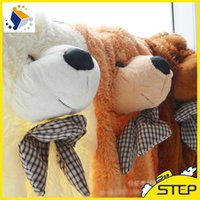 Wholesale cm quot inch Plush Bear Skin Semi finished Teddy bear Giant Teddy Bear Skin ST069