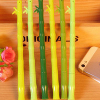 bamboo stationary - Bamboo Shape Gel Pens Pen Stationary Home Desktop Decorations Office School Supplies Papelaria