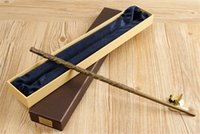 Wholesale With Iron Core New Quality Deluxe COS Hermione Granger Magic Wand of Magical Wands with Gift Box Packing