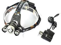 Wholesale 2016Wholesale lm CREE XML T6 R5 LED Headlight Headlamp Head Lamp Light Flashlight Torch Camping Fishing Rechargeable Lantern