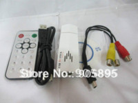 analog tv tuner ntsc - Hot sell USB Analog TV Tuner with Remote control compatible with NTSC PAL SECAM TV standards