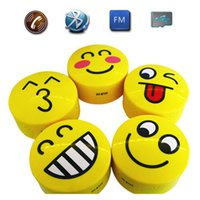 audio expressions - HY BT25 Lovely Cartoon Expression Style Mini Wireless Bluetooth Speakers Portable Bluetooth Stereo Speaker With TF USB FM