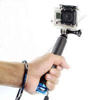 Wholesale GoPro Aluminum Extendable Pole Stick Telescopic Handheld Monopod with Mount Adapter for GoPro Hero SJ4000 Xiaomi Yi