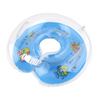 baby swim neck ring - Tube Ring Safety Baby Aids Infant Swimming Neck Float Inflatable Newest Drop Shipping