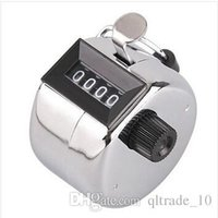Wholesale 240pcs CCA1982 Hot Sale Hand Held mechanical counter Tally counter for pedometer Frequency counter Manual people counter Novelty items