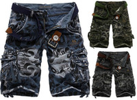 Wholesale 2016 Hot Sale Summer Men s Fashion Shorts Cargo Camo Combat Work Pants US