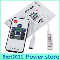 remote controller - 10Key LED Controller Mini RF Wireless LED Remote Controller Mini Dimmer for RGB LED Lights Strips