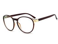 beautiful eyeglass frames - D King Vintage Ladies Beautiful fashion Eyeglass Frame Item Cuit Cool Clear Lens Glasses Frame Brown