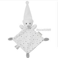baby bear comforter - Bear Baby Comforter Toy Cute Cartoon Animal Soft Plush Multifunctional Saliva Towel To Appease The Toy A Molar Tooth Baby Care