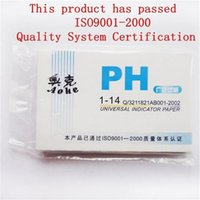 Wholesale 80 pH Meters Pack PH Test strips Indicator Test Strips Paper Litmus Tester Urine Saliva S561