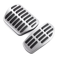 Wholesale Stainless steel Car Pedal Pads Cover AT For Nissan X TRAIL Xtrail T32 Rogue Qashqai J11 auto accessories
