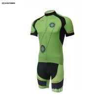 Wholesale Cheap Price Cut Off XINTOWN Cycling Mens Ropa Ciclismo Breathable Short Sleeves Shirts MTB Bike Team Racing Cycle Bib Shorts Sets