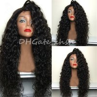 Wholesale 180 Density Culy Wig Full Lace Wig Brazilian Hair Curly Lace Front Wig Glueless Full Lace Human hair Wigs For Black Women