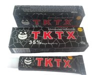 Wholesale 5pcs g TKTX Anesthetic More Numbing min Fast Tattoo Cream for Tattoo Body Tattoo Making Supply Eyebrow Body Waxing Piercing