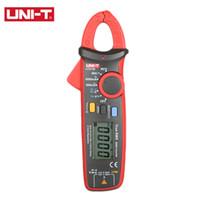 Wholesale UNI T UT211B A High Resolution True RMS digital Clamp Meters W V F C NCV Test amp Zero Mode pinza amperimetrica multimeter