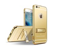 acylic mirror - For Iphone s Cases Luxury Aluminum Frame Mirror Case Acylic Back Cover For Iphone plus s plus Covers Cases