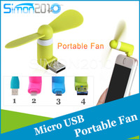 Cheap Micro USB USB Iphone5 port Fan 5Pin Flexible Portable Super Mute Cooler Cooling For Android Phone Iphone 6S Plus