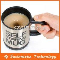 Wholesale New Automatic mixing coffee Self Stirring Mug Mark Electric Stir Creative Gadgets Milk Tea