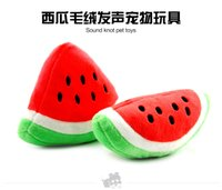 Toys accessories for toy dogs - 2015 New Toy For Dogs Red Green Watermelon Brand Designer Pets Fashion Accessories For Puppy Small Animals Chihuahua Yorkie L033