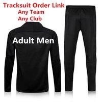 Wholesale Top Quality New Version Customize Tracksuit Sports Suit Chandal Survetement