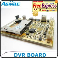 Wholesale Real time CH Mini HD XBOX DVR PCB Board up to D1 fps support GB sd Card