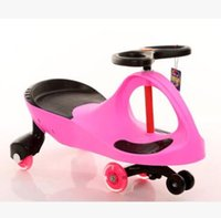 Wholesale High quality Children cartoon yo car scooter baby toy cart walker PP toy wheels as children gifts