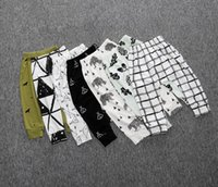 Wholesale 9 style hot baby cartoon harem pants cheap kids spring autumn casual pants CM boy PP pants S