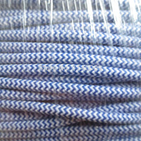 Wholesale m DHL x0 mm2 Zig Zag Fabric Wire Textile Wire Cable Cloth Covered Electrical Wire Edison lamp cord