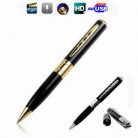 Wholesale Gold Mini Spy Pen HD Video Recorder Hidden Pinhole Camera Camcorder DVR X960