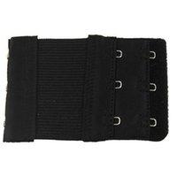animal print tape - BISM Black Dual Rows Adjustable Bra Extender Hook w Eye Tape