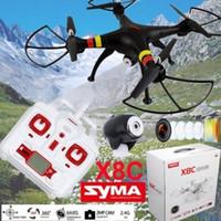 Syma X8C 6-Axis 4CH Remote Control Venture RC 2MP caméra drone hélicoptère
