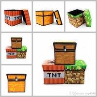 best bins - AAA Best Gift NEW cm Minecraft Bins Minecraft storage box Minecraft Receive box Minecraft Toys Gifts Minecraft Trap Storagebox