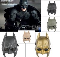 Wholesale Tactical Mask s Home Batman Full Face Airsoft Paintball Mask For Halloween Dance Party CS Wargame Field game Walking Dead