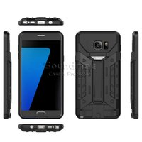 ba case - Armor Hybrid card Slot case With Kickstand Back Cover For iphone S plus SE Samsung Galaxy S7 edge Note5 OPP BA