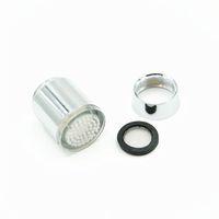 Wholesale 3 Color LED Filter Glow Bathroom Sink Basin Faucet Temperature Sensor Light Tap No Battery
