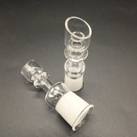 beveled glass - DHL free The latest Beveled bowl design Domeless Quartz Nails Fits mm mm male female for Glass Bongs Oil Rigs pipes