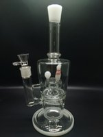 baseball tube - Bongs water pipes inch glass bong smoking pipes with in line perc baseball model for Oil rig Thick tube