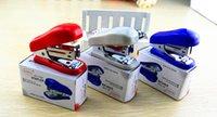 Wholesale Mini stapler for office school stapler cute staplers