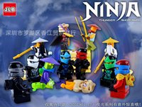 Wholesale Building Block Minifigure NINJA SWORDMAN figures H toy gift puzzle No Box FREE Ship
