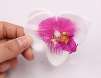 arranging orchids - 5CM handmade real touch phalaenopsis artificial silk butterfly orchids heads diy craft arrange flower decoration accessories