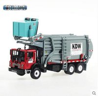 bicycle transportation - 1 Alloy engineering vehicle material transportation vehicle model garbage truck children toy car model car model