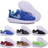 Wholesale Children s Running Shoes For Boys Girls Athletic Shoes Kids RosheRun Boots Babys Cheap Olympic London Sport Shoes