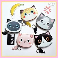 Wholesale Cartoon cat childlike creative purse packet