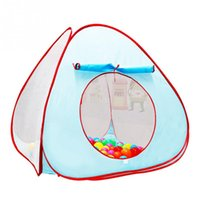 Wholesale Triangular Ttent Folding Baby Indoor Children s Intellectual Development Cute Little Family Tent