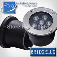 big led chips - FEDEX DHL W LED underground light W mil big chip Buried foot ground floor recessed lamp DC12V24VAC85 V