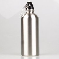 Wholesale 5pcs ml Outdoor Sports Stainless Steel Water Bottle Botella Agua Bicicleta Drinkware Bottle for Bicycle Bike Thermos Kettle