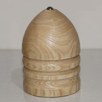 Wholesale solid wood spinning top trompo whipping top toy