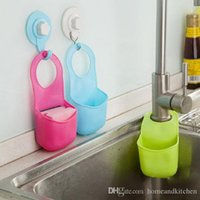 Wholesale New Arrival Creative Folding Silicone Hanging Storage Holders Kitchen Bathroom Storage Holders Racks